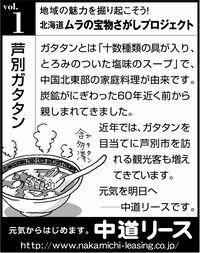 北海道 地域の魅力 1 芦別ガタタン