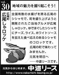 北海道 地域の魅力 30 広尾しゃロッケ